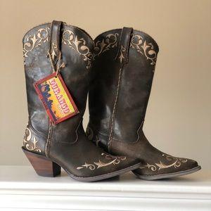 Durango Women's Crush Chocolate Scroll Boots